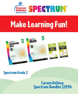 Spectrum Learning Bundle - pick a grade