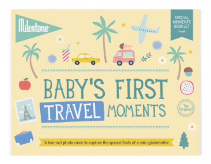Baby Milestone Cards - First Travel Moments