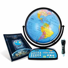 Load image into Gallery viewer, Intelliglobe II Deluxe Interactive Globe, 12-inch Diameter