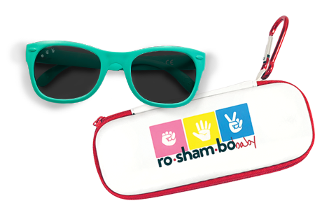 ROSHAMBO SHADES ZIPPERED CASE
