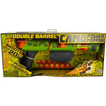 Load image into Gallery viewer, Camo Double Barrel Power Popper