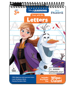 Trace with Me: Frozen 2 Letters Activity Pad