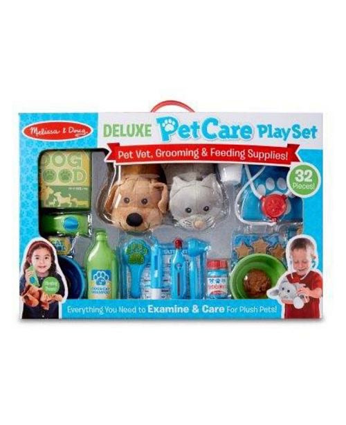 Melissa & Doug Deluxe Pet Care Play Set