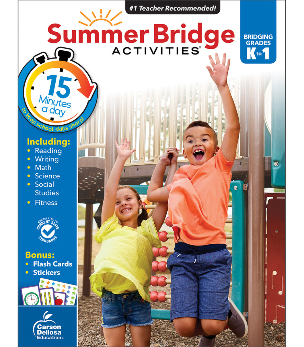 Summer Bridge Workbook K-1
