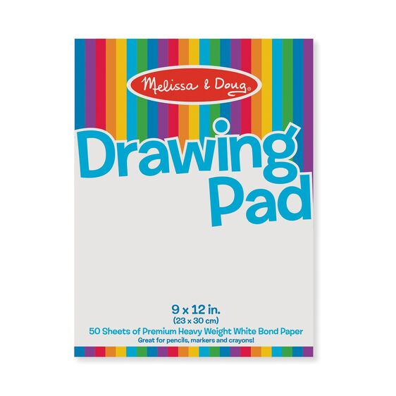 Melissa & Doug Drawing Paper Pad 9x12