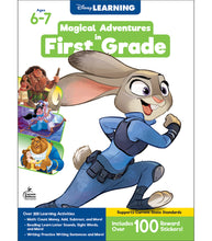 Load image into Gallery viewer, Disney Magical Adventures Workbook - First Grade