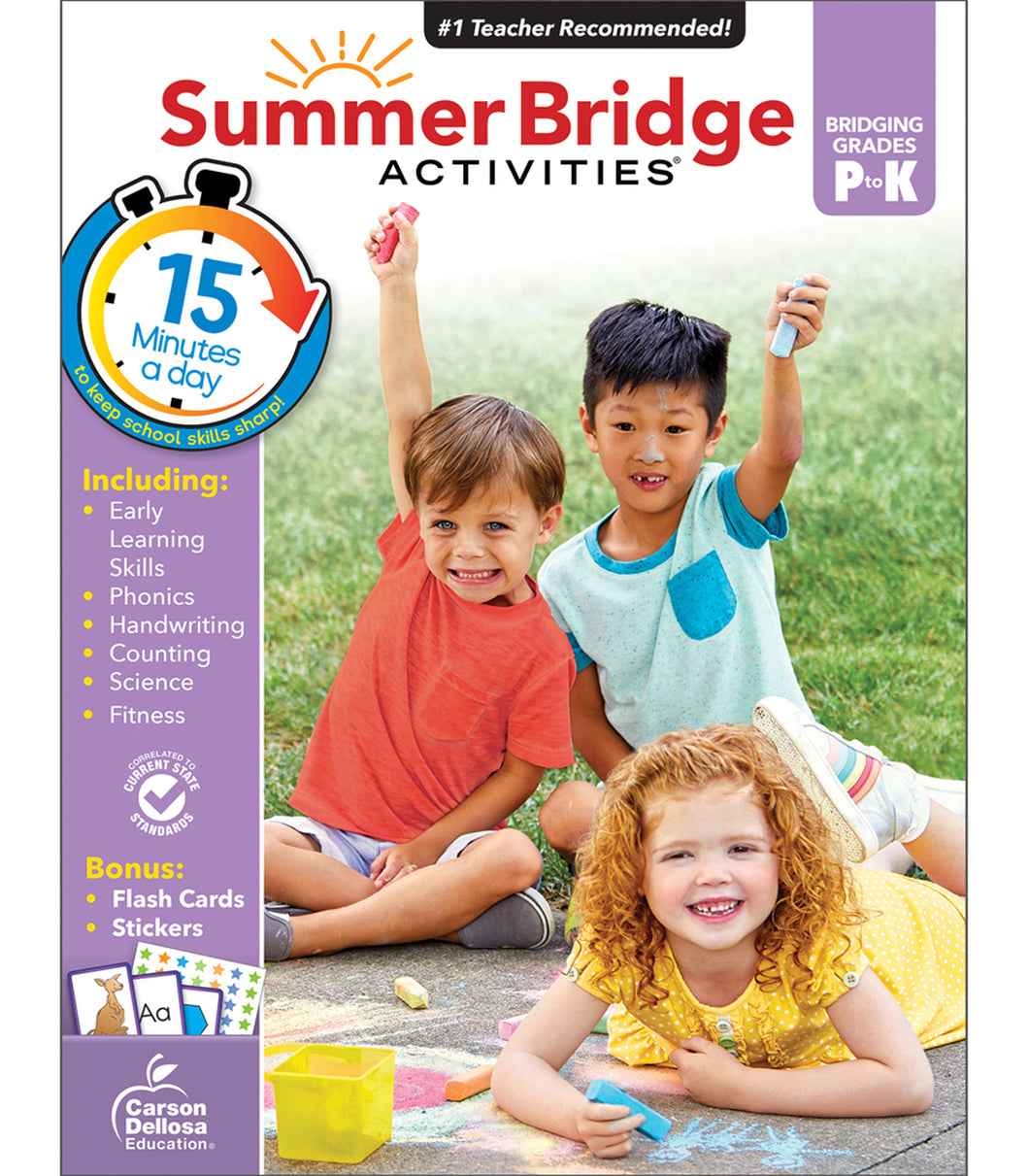 Summer Bridge Workbook PreK-K