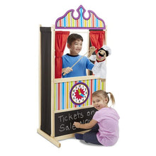 Load image into Gallery viewer, Melissa & Doug Deluxe Puppet Theatre