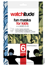 Load image into Gallery viewer, Kids Disposable Masks - 6 pack