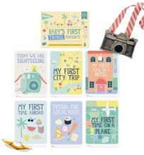 Load image into Gallery viewer, Baby Milestone Cards - First Travel Moments