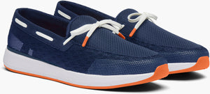 SWIMS - Breeze Wave Lace In Navy /White /Orange