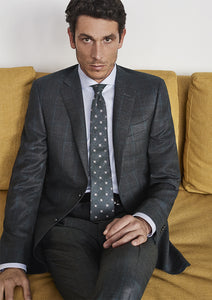 Canali - Dark Blue Check KEI Modern Fit Suit - 13280/33 BF00281.316