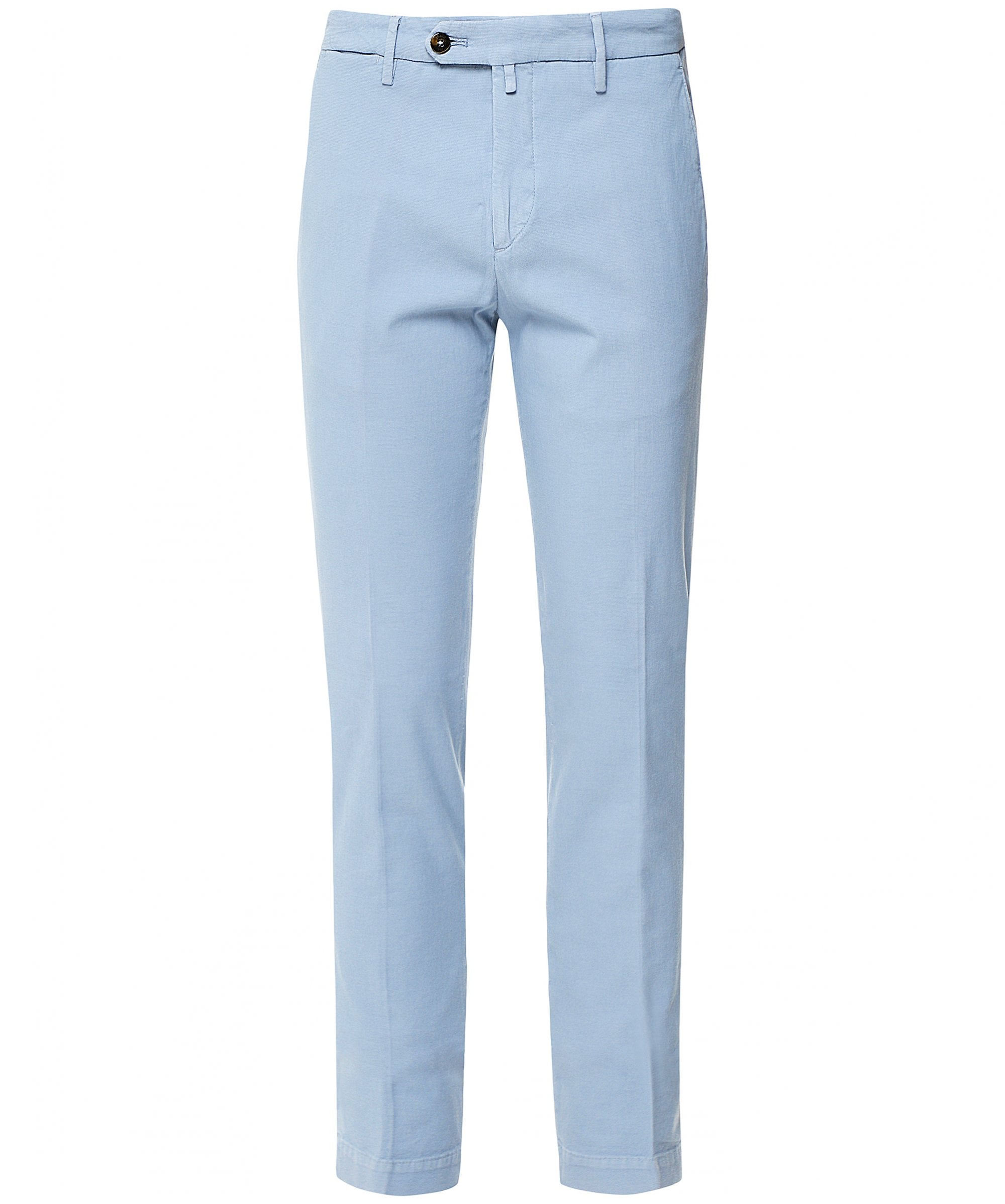 Briglia 1949 - Sky Blue Coloured Slim Fit Cotton Stretch Chinos BG04 321030