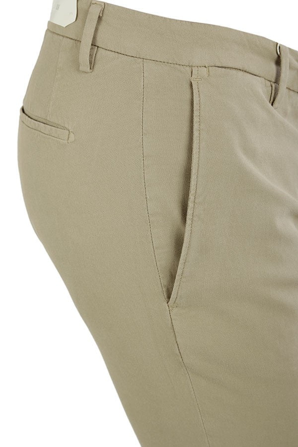 Briglia 1949 - Biscuit Coloured Slim Fit Cotton Stretch Chinos BG04 321030
