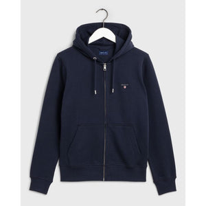 GANT - Evening Blue Original Full-Zip Hoodie 2046011