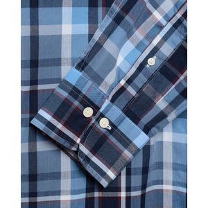 GANT - Pacific Blue Indigo Madras Check Regular Fit Shirt 3016120