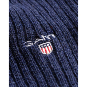 GANT - Marine Blue Wool Knit Scarf 9920002