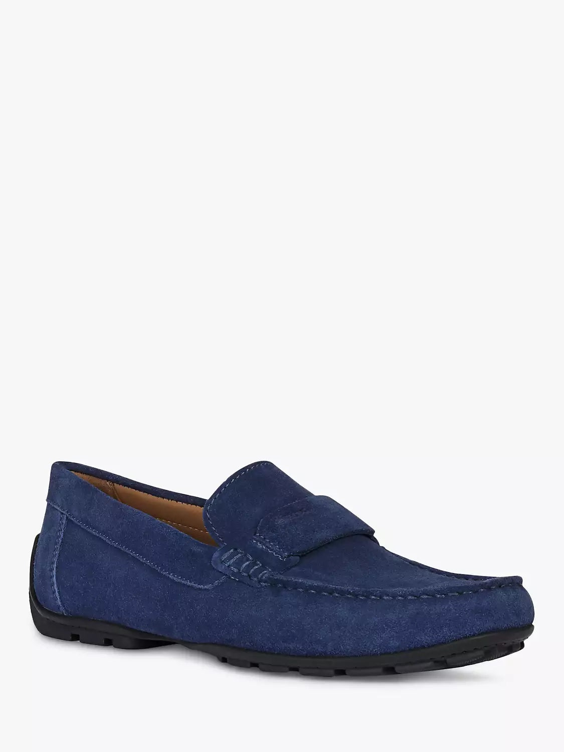 GEOX - MONER Blue Suede Loafers U1544A00022C4002