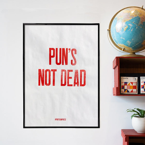 Poster PUNS NOT DEAD - Ethica Roasters
