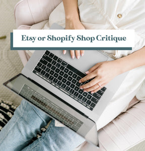 Shop Critique - Etsy or Shopify