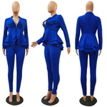Load image into Gallery viewer, Women Blazer Two Piece Set