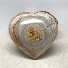 Load image into Gallery viewer, Large Ocean Jasper Heart