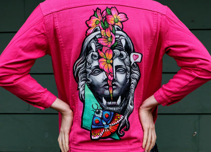 Think in Pink! - Jacket (One of a Kind)