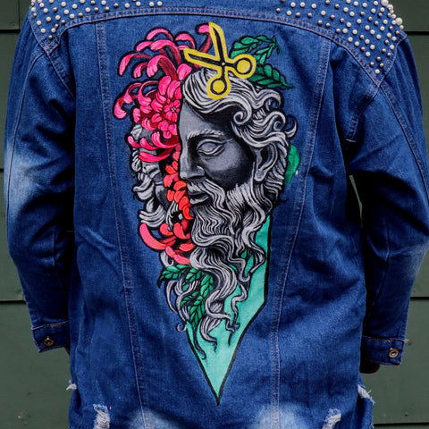 Beaux Bleu Clippin' - Jacket (One of a Kind)