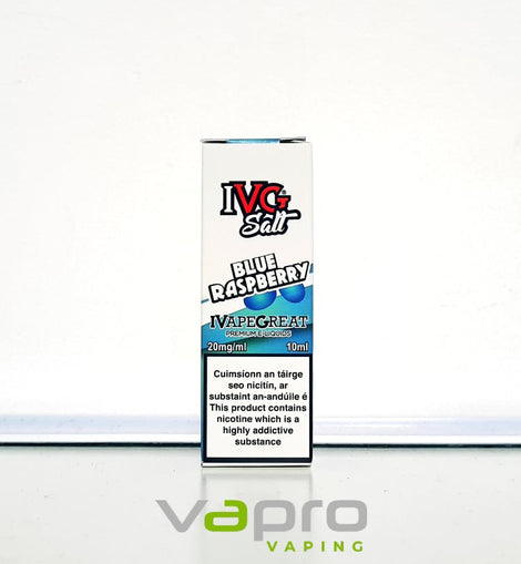 IVG Blue Raspberry 10ml - 20mg Nicotine Salt