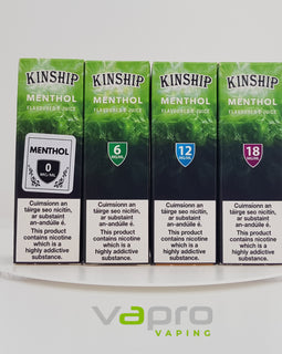 Kinship Menthol 0mg 10ml - Vapro Vapes