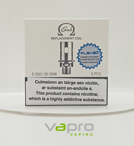 Innokin Isub Plex 3d Coil (Single) - Vapro Vapes