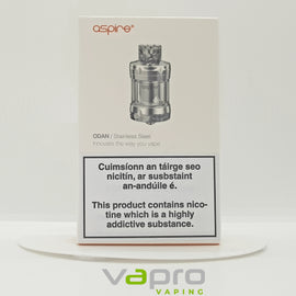 Aspire Odan Tank Stainless - Vapro Vapes