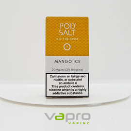 Mango Ice - Pod Salt - Vapro Vapes