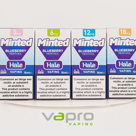 Hale Minted Blueberry 10ml (6mg) - Vapro Vapes