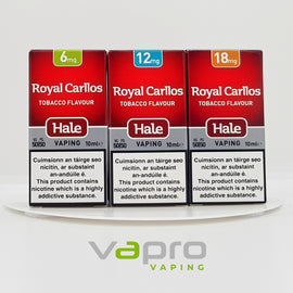 Hale Royal Carllos 10ml (12mg) - Vapro Vapes