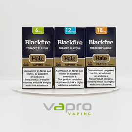 Hale Blackfire 10ml (6mg) - Vapro Vapes