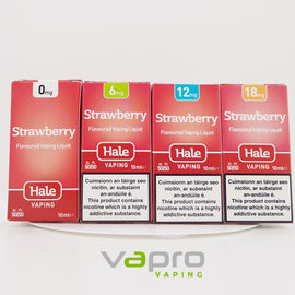 Hale Strawberry 10ml (12mg) - Vapro Vapes