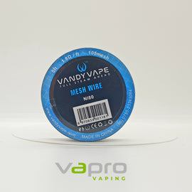 Vandy Vape Mesh Wire 100msh 5ft - Vapro Vapes