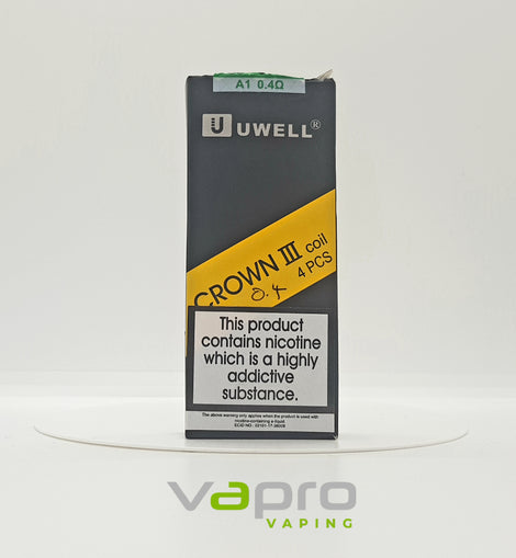 Uwell Crown 3 Coil 0.4 (single) - Vapro Vapes