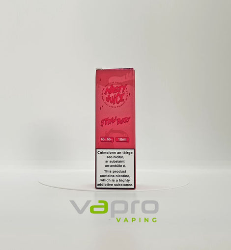 Nasty Juice Strawberry 12mg 10ml - Vapro Vapes