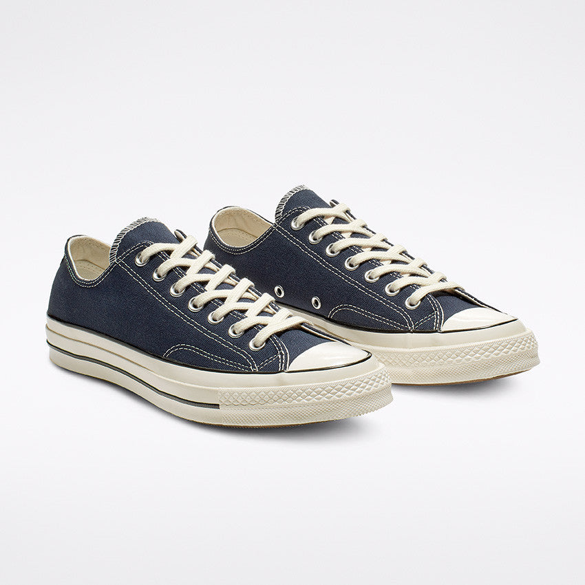 CHUCK 70 OX OBSIDIAN/EGRET/BLACK LOW TOP