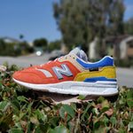 Load image into Gallery viewer, NEW BALANCE 997 HJP ORANGE BLUE