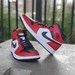 Load image into Gallery viewer, AIR JORDAN 1 MID CHICAGO TOE