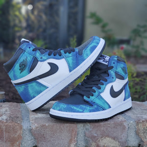 W AIR JORDAN 1 HIGH TIE DYE (IG RAFFLE)
