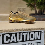 Load image into Gallery viewer, NIKE AIR MAX 97 QS GOLD MEDAL