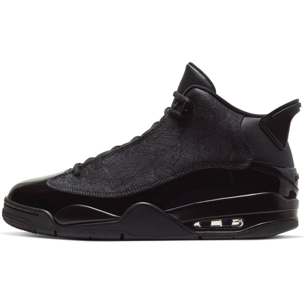 AIR JORDAN DUB ZERO BLACK/BLAC