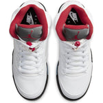 Load image into Gallery viewer, AIR JORDAN 5 RETRO GS FIRE RED 2020 SILVER TONGUE
