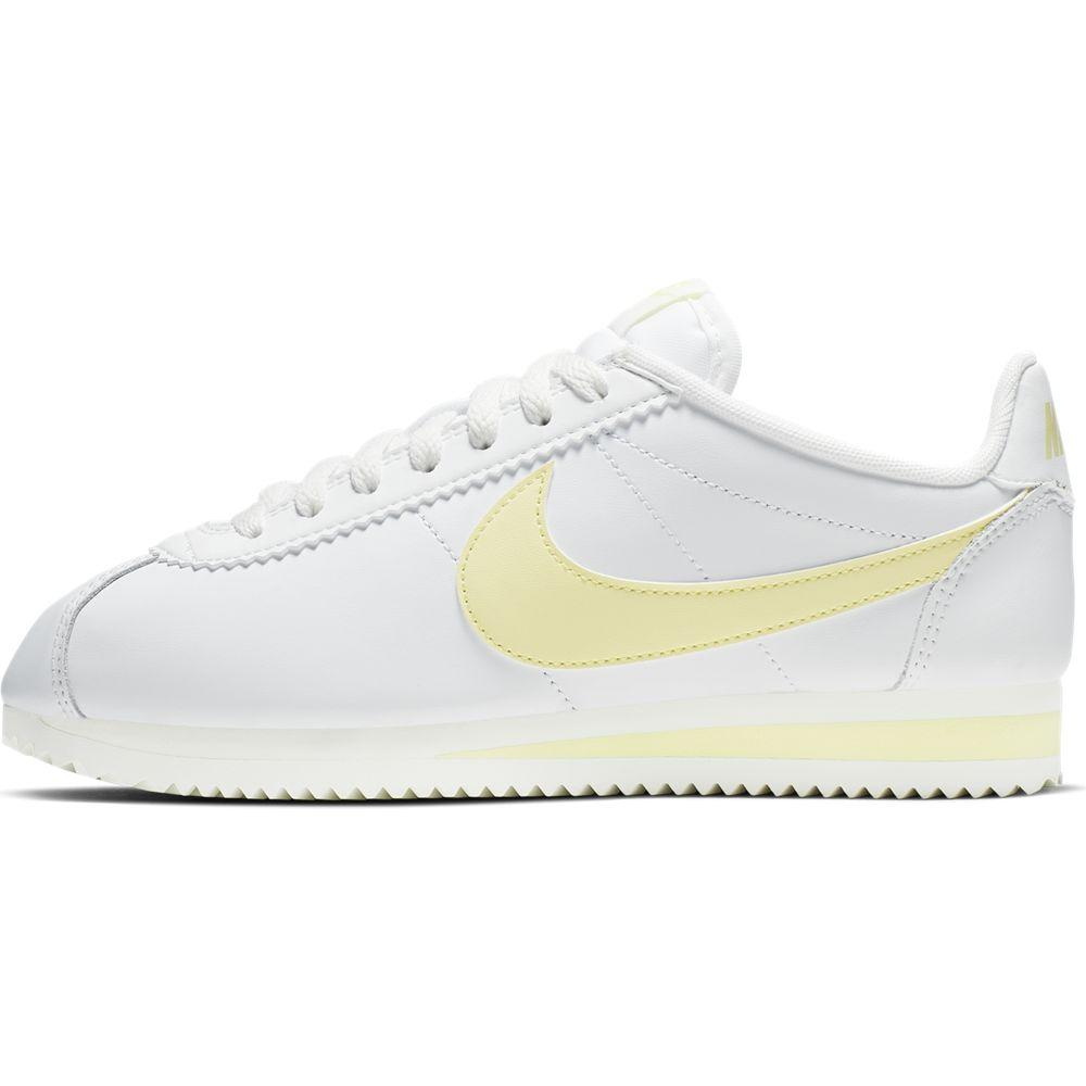 WMNS CLASSIC CORTEZ LEATHER WH