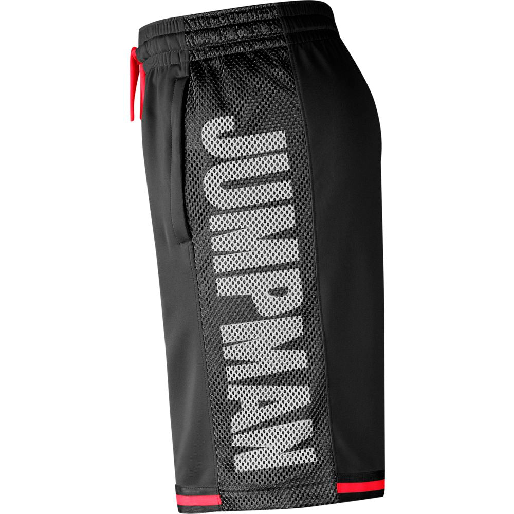 JORDAN JUMPMAN BASKETBALL SHORTS BLACK/INFRARED