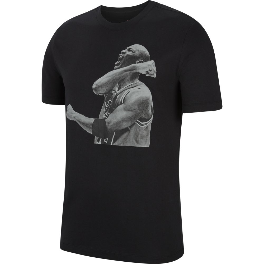 JORDAN PHOTO T-SHIRT BLACK/WHITE